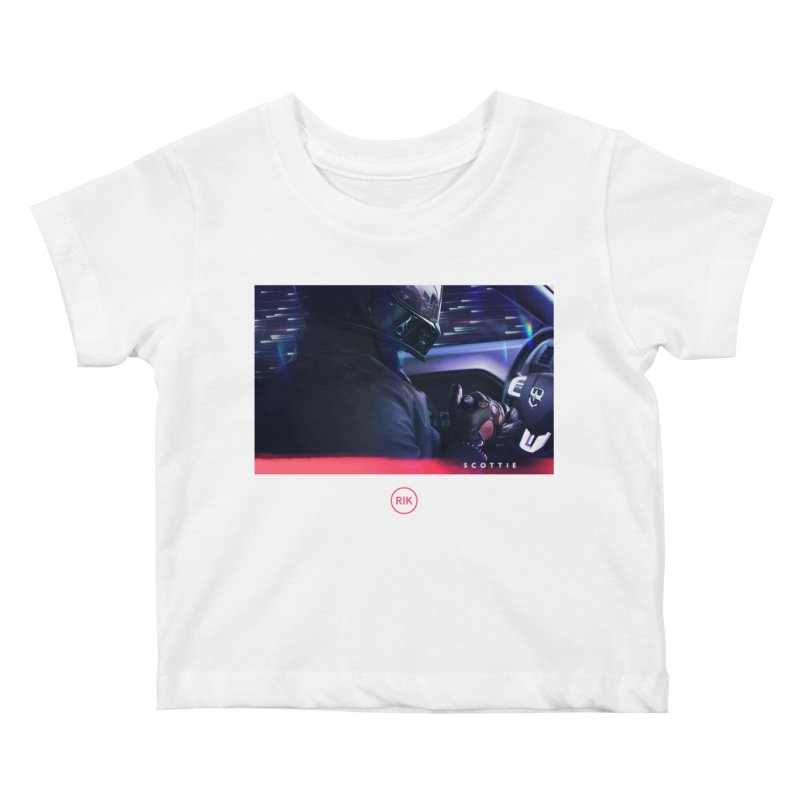 S C O T T I E Kids Baby T-Shirt by RIK.Supply