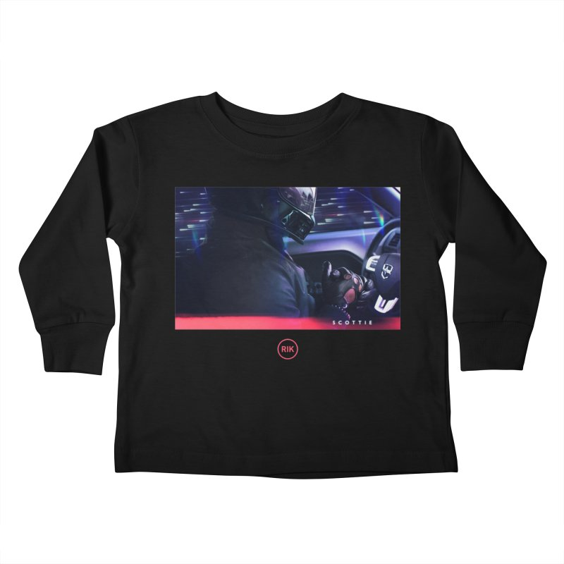 S C O T T I E Kids Toddler Longsleeve T-Shirt by RIK.Supply