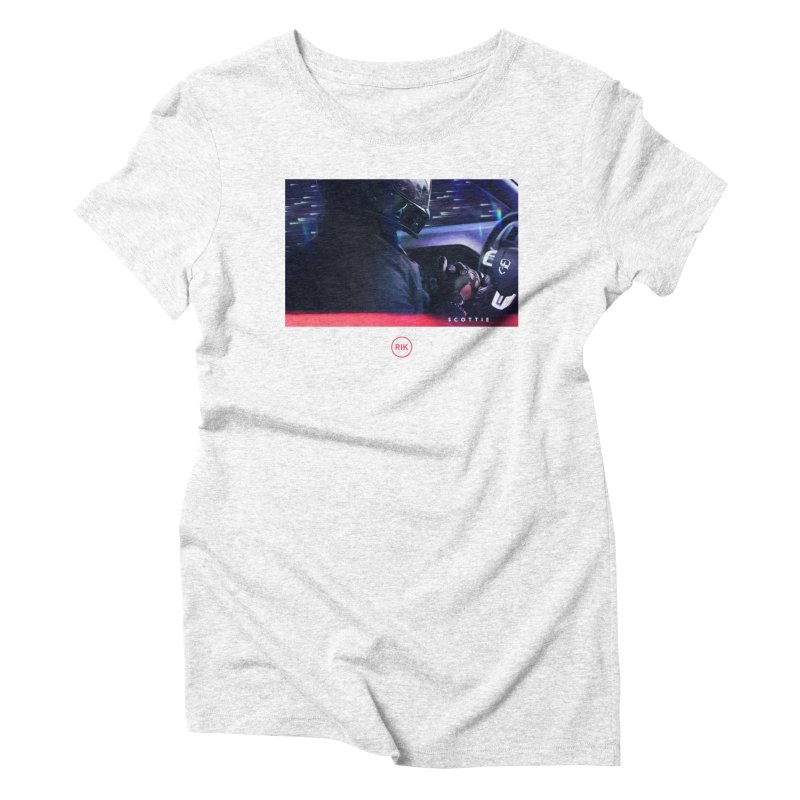 S C O T T I E Women's Triblend T-shirt by RIK.Supply