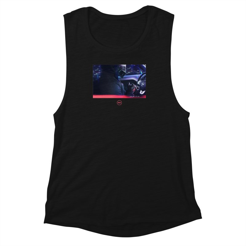 S C O T T I E Women's Muscle Tank by RIK.Supply