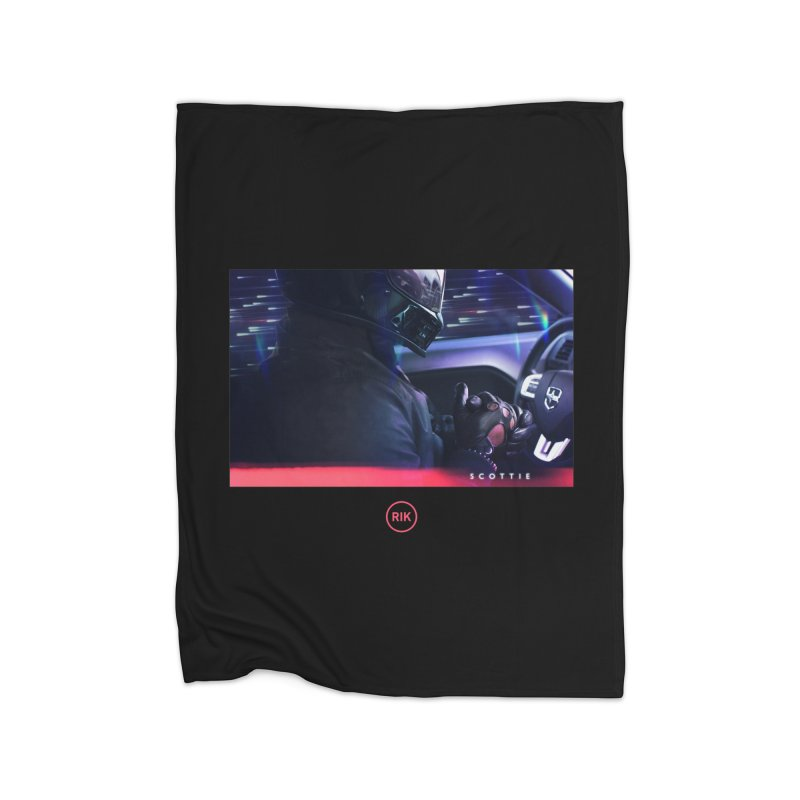 S C O T T I E Home Fleece Blanket by RIK.Supply
