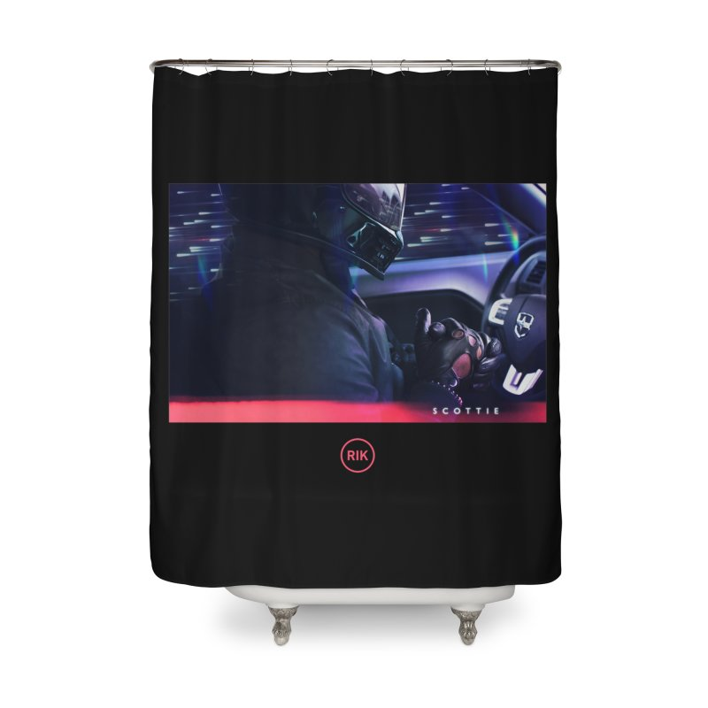 S C O T T I E Home Shower Curtain by RIK.Supply