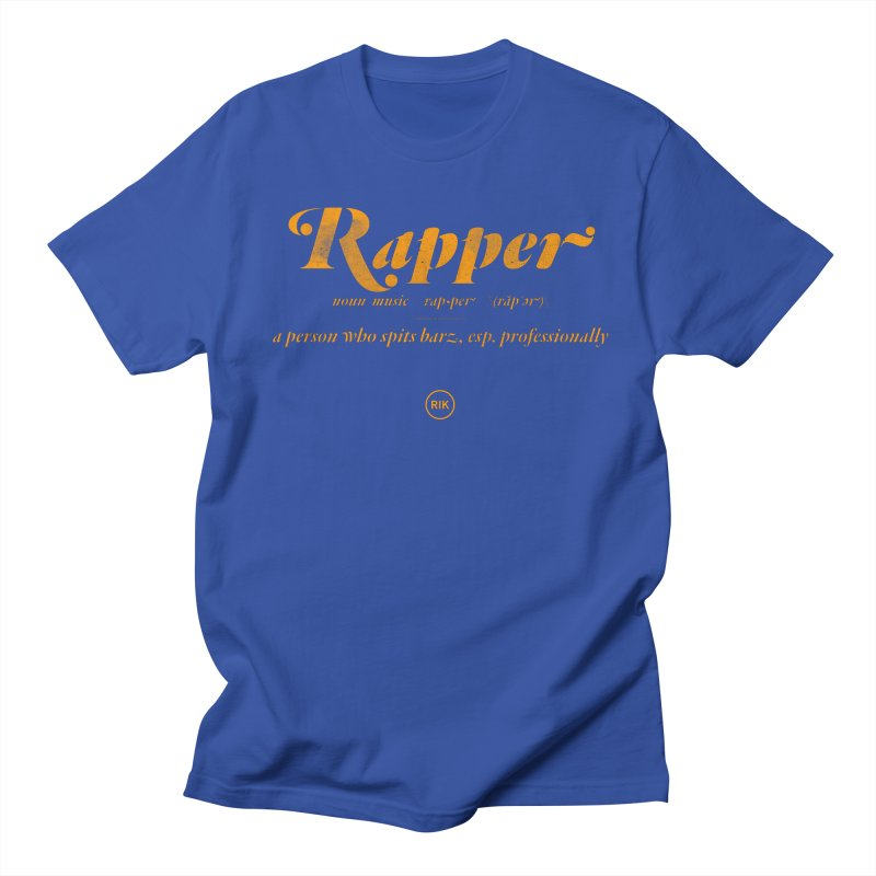 Definition (JFK) in Men's Regular T-Shirt Royal Blue by RIK.Supply
