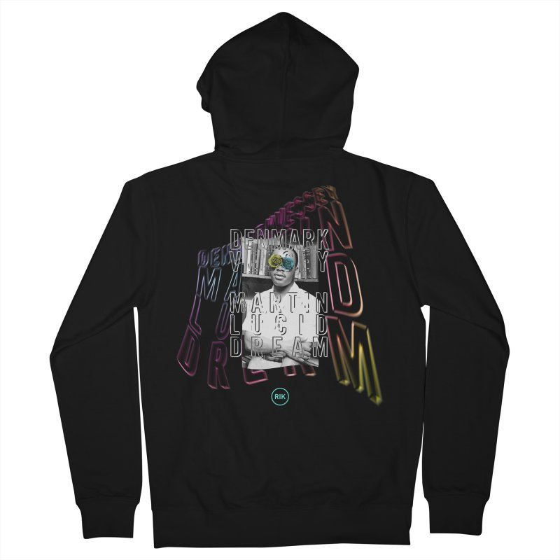 Martin Lucid Dream (Wave) Men's French Terry Zip-Up Hoody by RIK.Supply
