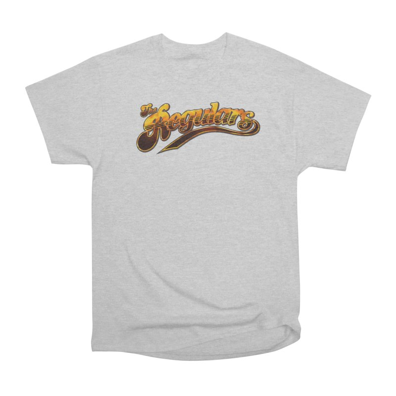 The Regulars (Gold) Men's Heavyweight T-Shirt by RIK.Supply