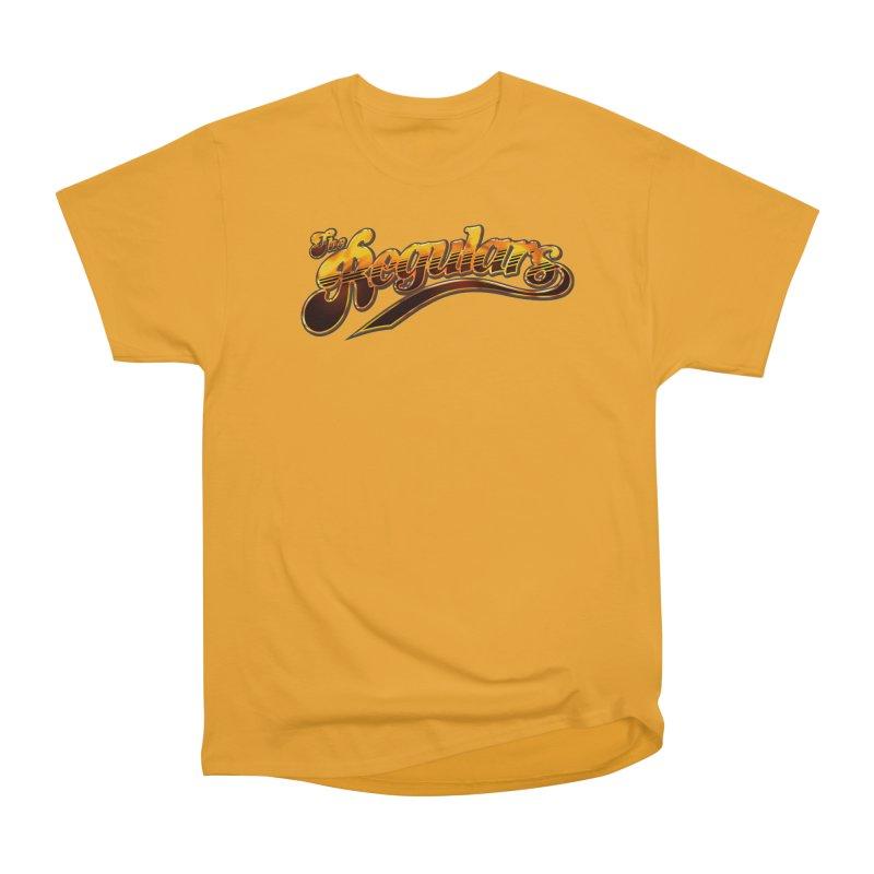 The Regulars (Gold) Women's Heavyweight Unisex T-Shirt by RIK.Supply
