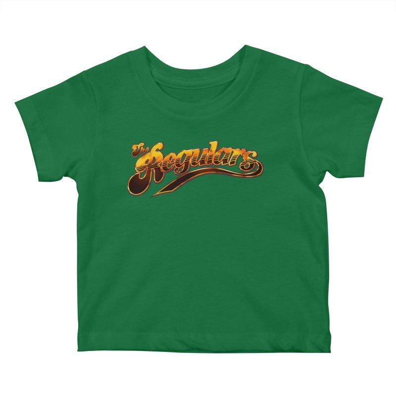 The Regulars (Gold) Kids Baby T-Shirt by RIK.Supply