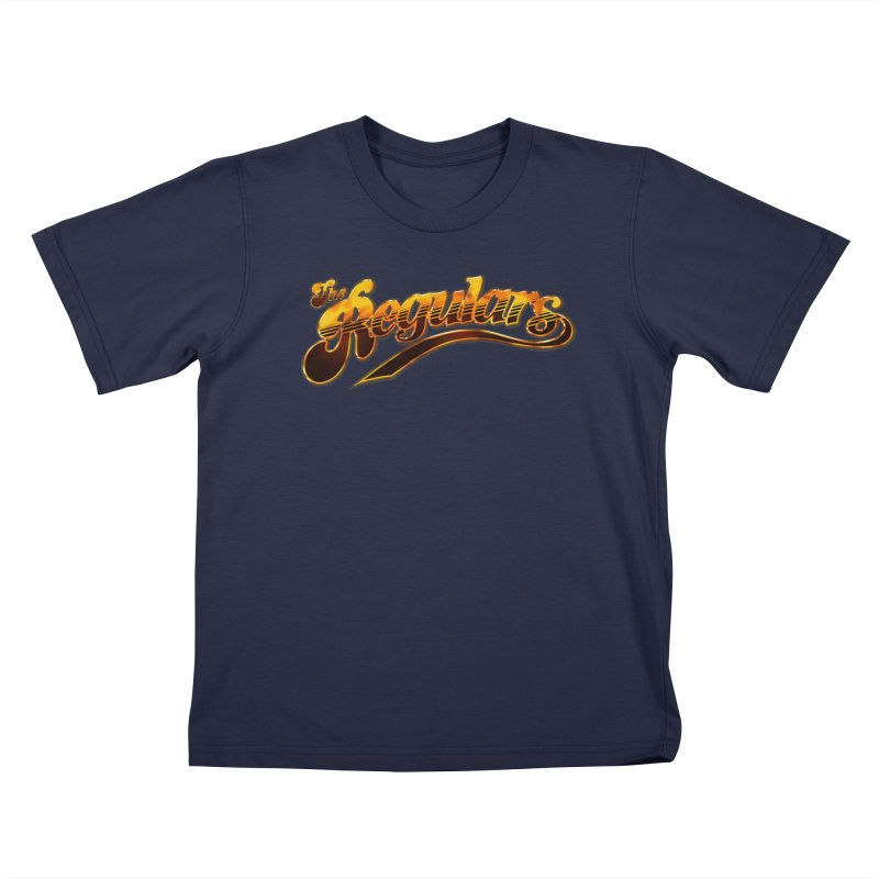 The Regulars (Gold) Kids T-Shirt by RIK.Supply