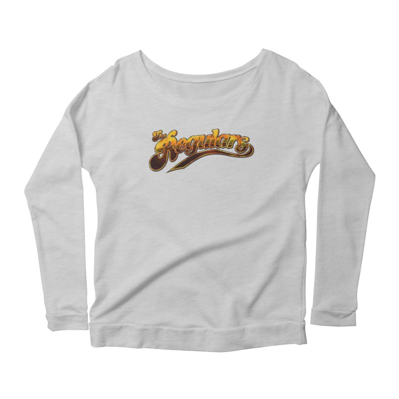 The Regulars (Gold) Women's Scoop Neck Longsleeve T-Shirt by RIK.Supply