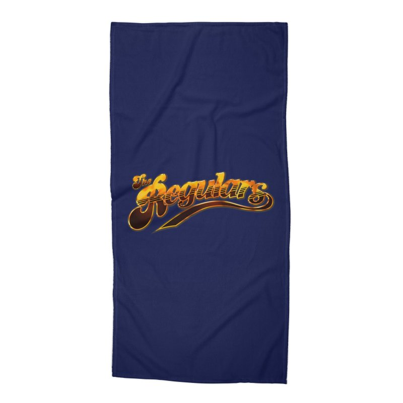 The Regulars (Gold) Accessories Beach Towel by RIK.Supply