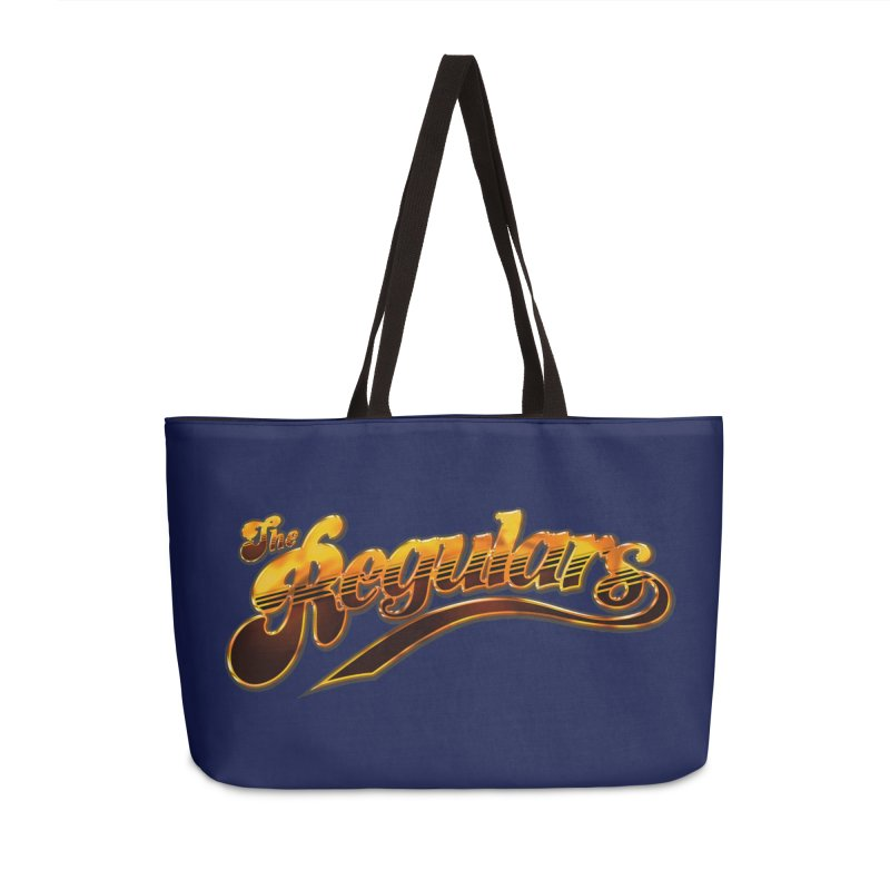 The Regulars (Gold) Accessories Weekender Bag Bag by RIK.Supply