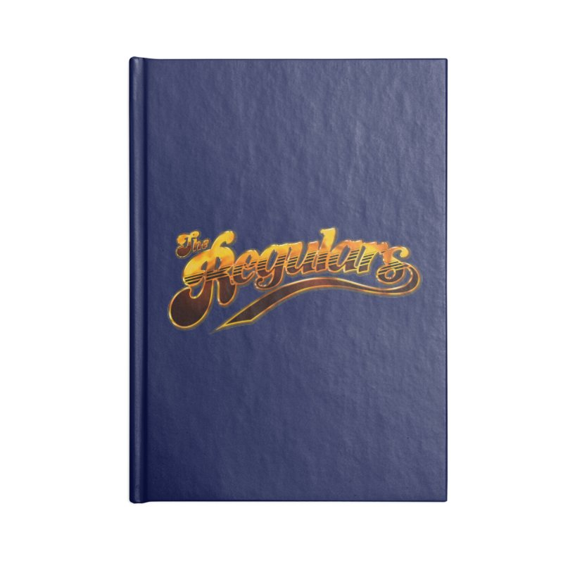 The Regulars (Gold) Accessories Notebook by RIK.Supply
