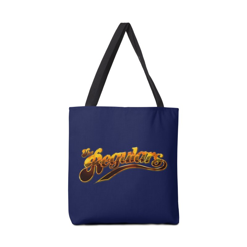 The Regulars (Gold) Accessories Bag by RIK.Supply