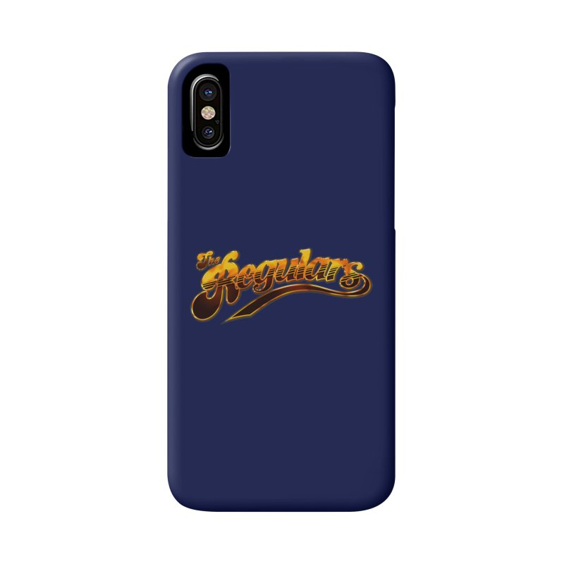 The Regulars (Gold) Accessories Phone Case by RIK.Supply