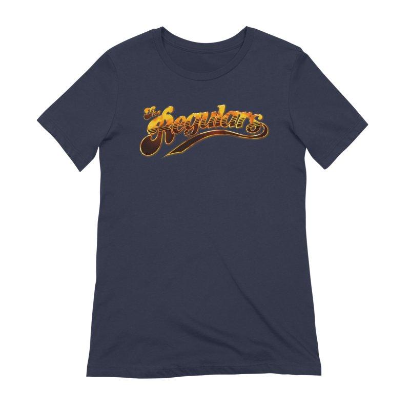 The Regulars (Gold) Women's Extra Soft T-Shirt by RIK.Supply