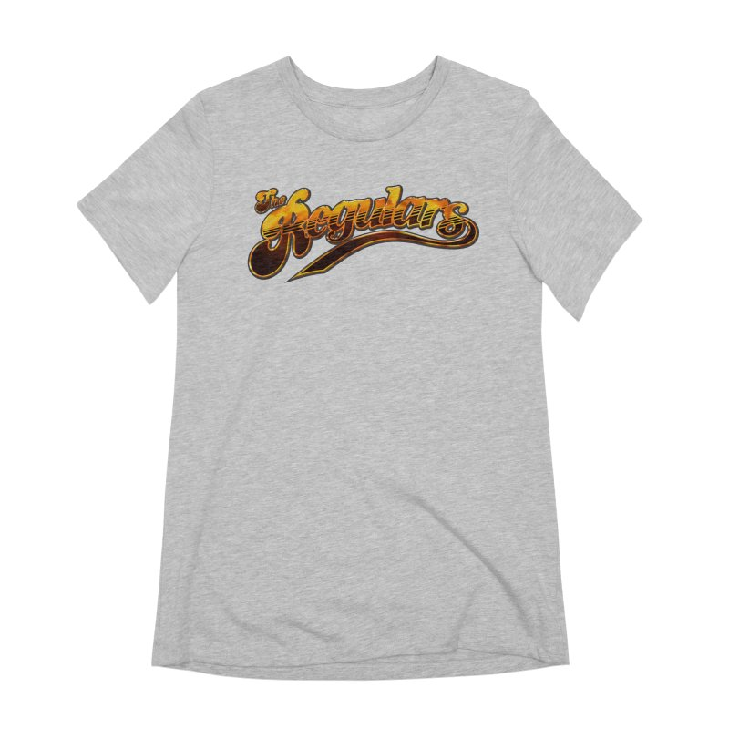 The Regulars (Gold) Women's Extra Soft T-Shirt by RIK.Supply
