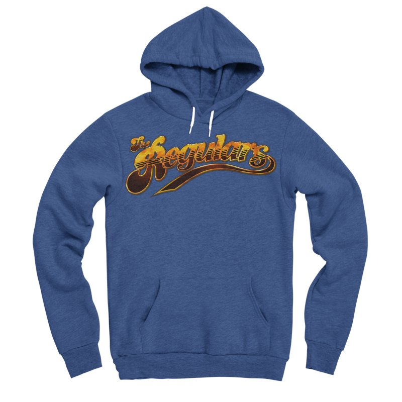 The Regulars (Gold) Men's Sponge Fleece Pullover Hoody by RIK.Supply