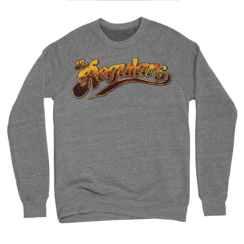 The Regulars (Gold) Men's Sponge Fleece Sweatshirt by RIK.Supply