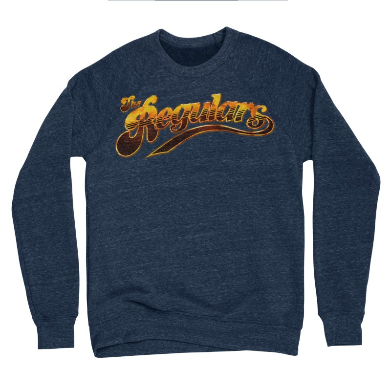 The Regulars (Gold) Women's Sponge Fleece Sweatshirt by RIK.Supply