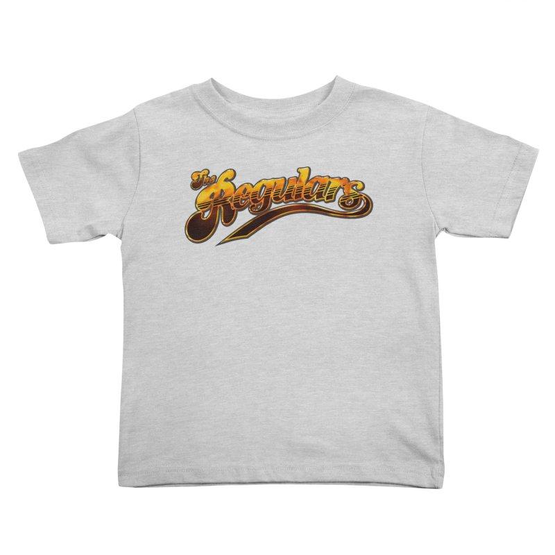 The Regulars (Gold) Kids Toddler T-Shirt by RIK.Supply