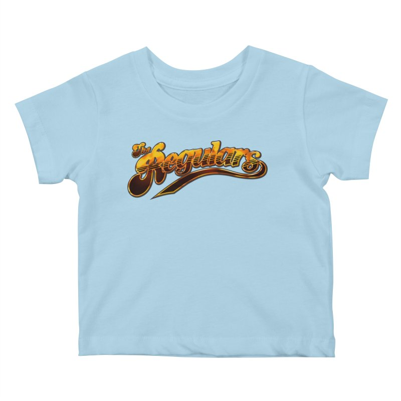 The Regulars (Gold) Kids Baby T-Shirt by RIK.Supply
