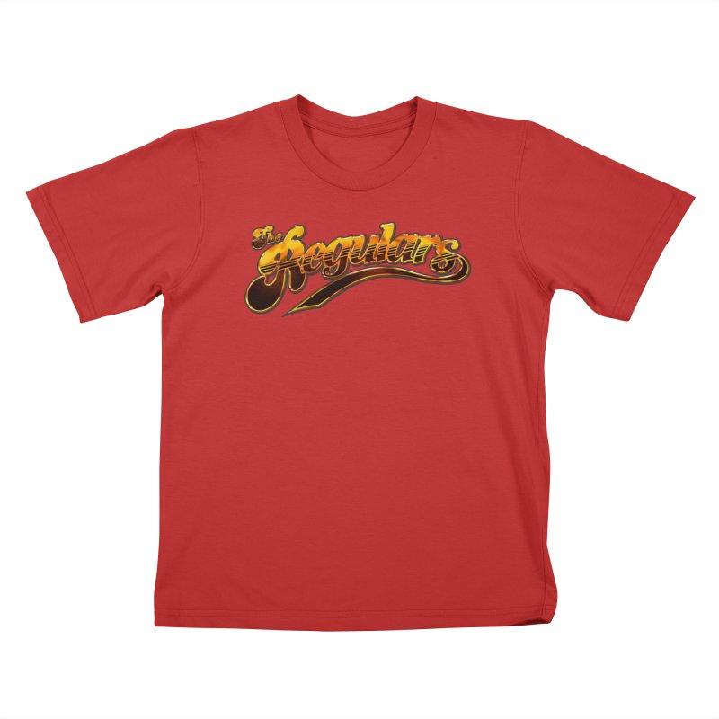 The Regulars (Gold) Kids T-Shirt by RIK.Supply