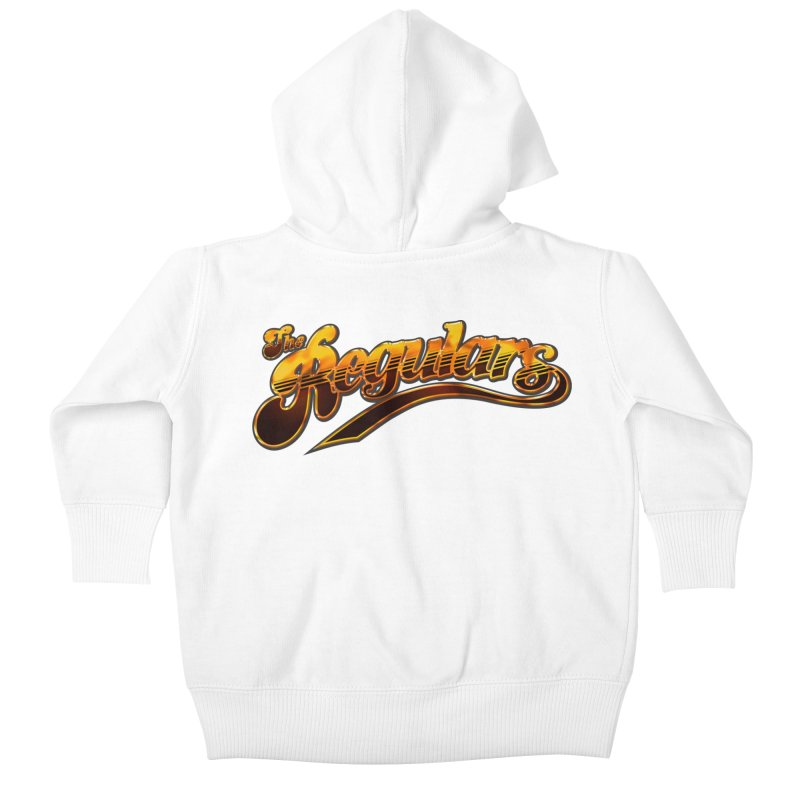 The Regulars (Gold) Kids Baby Zip-Up Hoody by RIK.Supply