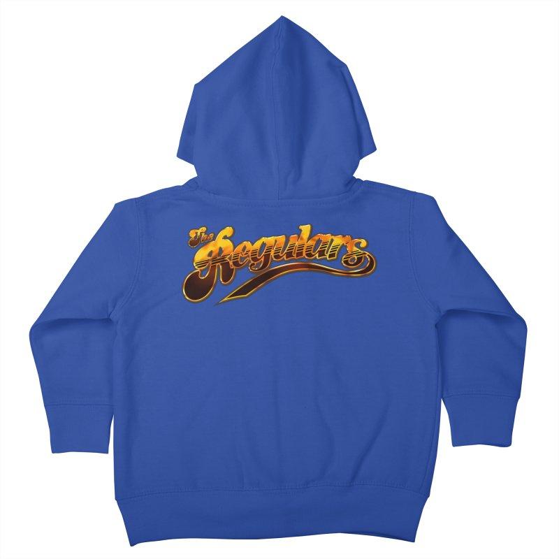 The Regulars (Gold) Kids Toddler Zip-Up Hoody by RIK.Supply