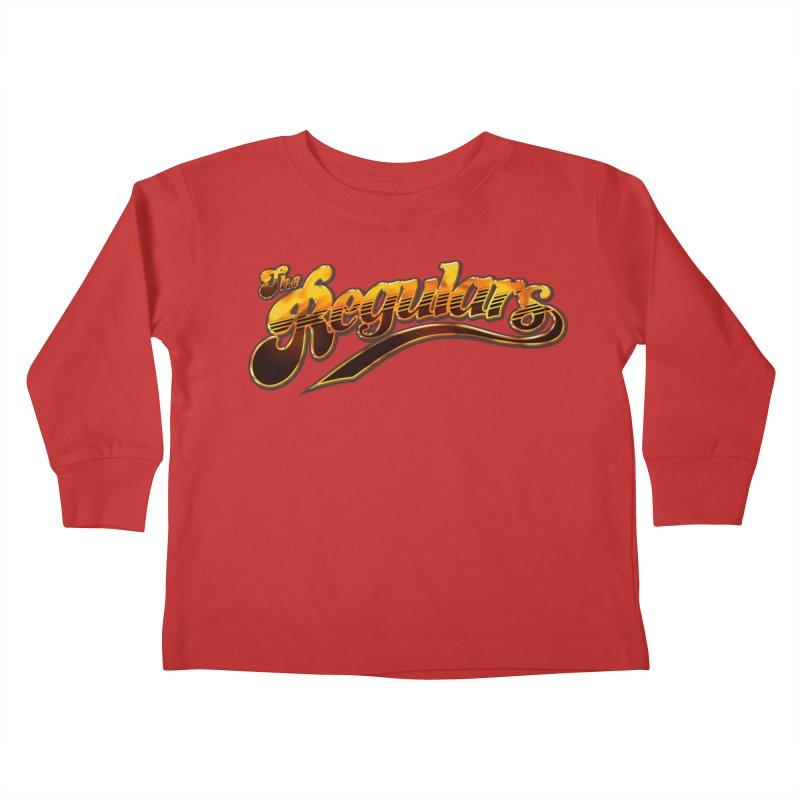 The Regulars (Gold) Kids Toddler Longsleeve T-Shirt by RIK.Supply