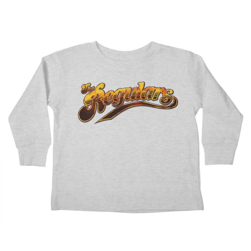 The Regulars (Gold) Kids Toddler Longsleeve T-Shirt by RIK.Supply