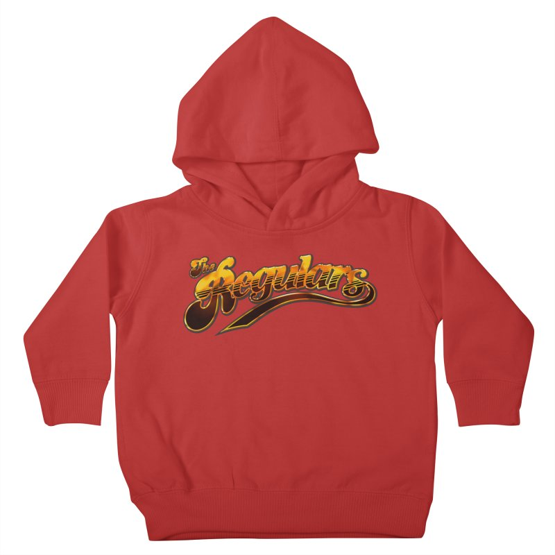 The Regulars (Gold) Kids Toddler Pullover Hoody by RIK.Supply