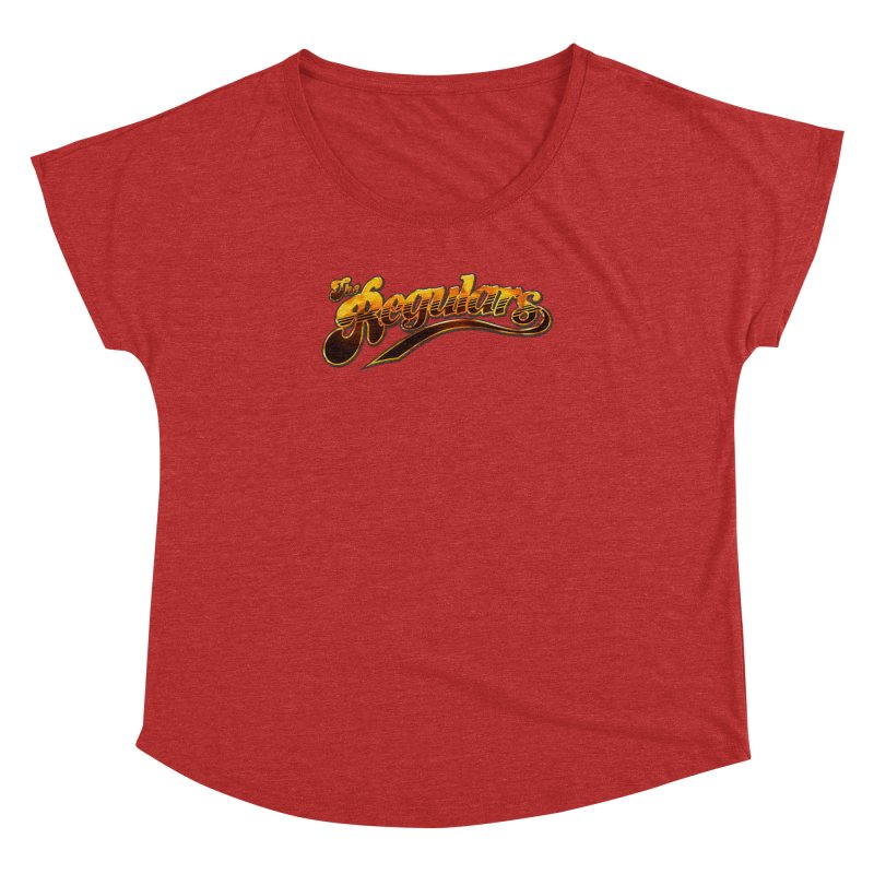 The Regulars (Gold) Women's Dolman Scoop Neck by RIK.Supply