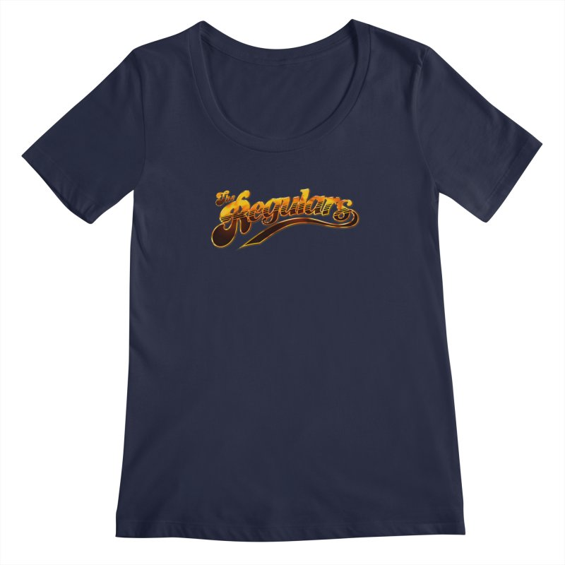 The Regulars (Gold) Women's Regular Scoop Neck by RIK.Supply