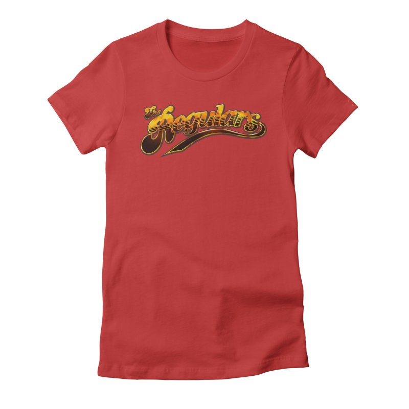 The Regulars (Gold) Women's Fitted T-Shirt by RIK.Supply