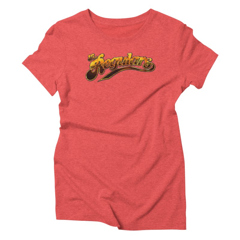The Regulars (Gold) Women's Triblend T-Shirt by RIK.Supply