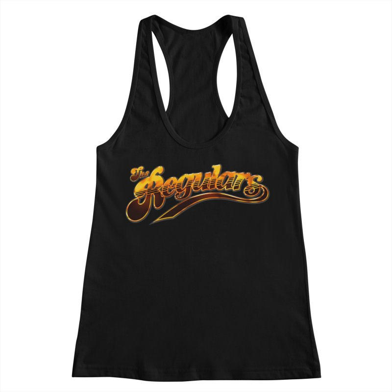 The Regulars (Gold) Women's Racerback Tank by RIK.Supply