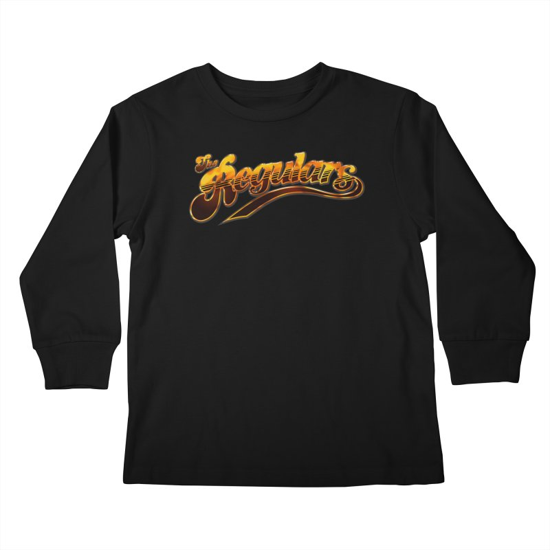 The Regulars (Gold) Kids Longsleeve T-Shirt by RIK.Supply