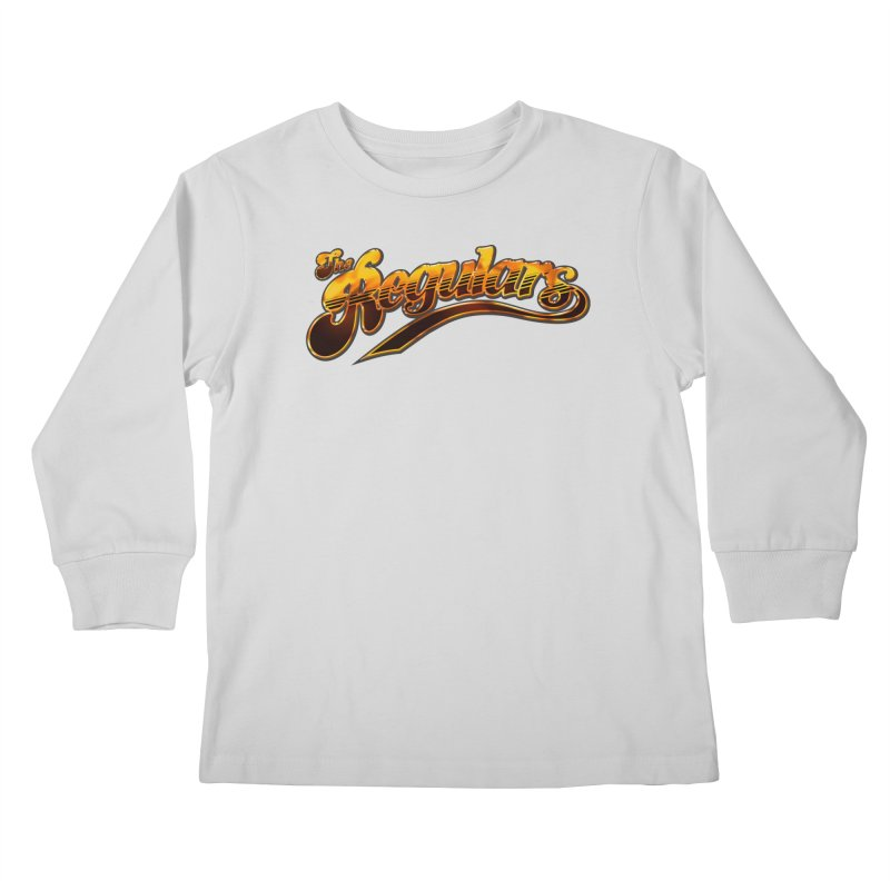 The Regulars (Gold) Kids Longsleeve T-Shirt by RIK.Supply