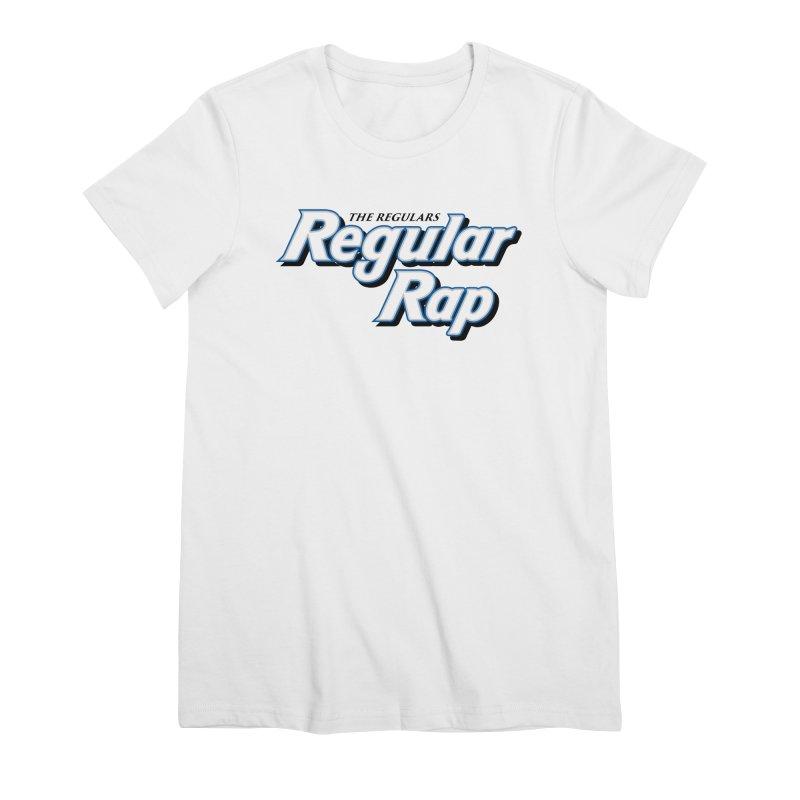 Regular Rap Women's Premium T-Shirt by RIK.Supply