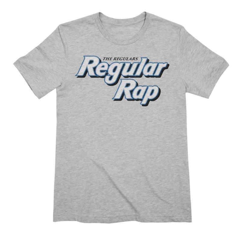 Regular Rap Men's Extra Soft T-Shirt by RIK.Supply
