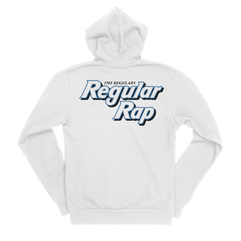 Regular Rap Men's Sponge Fleece Zip-Up Hoody by RIK.Supply