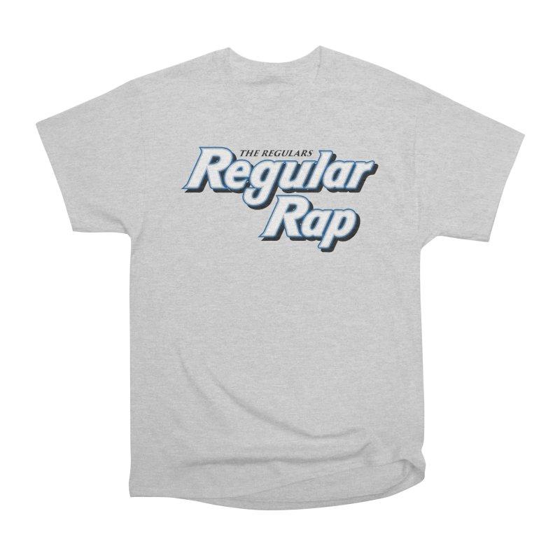 Regular Rap Women's Heavyweight Unisex T-Shirt by RIK.Supply