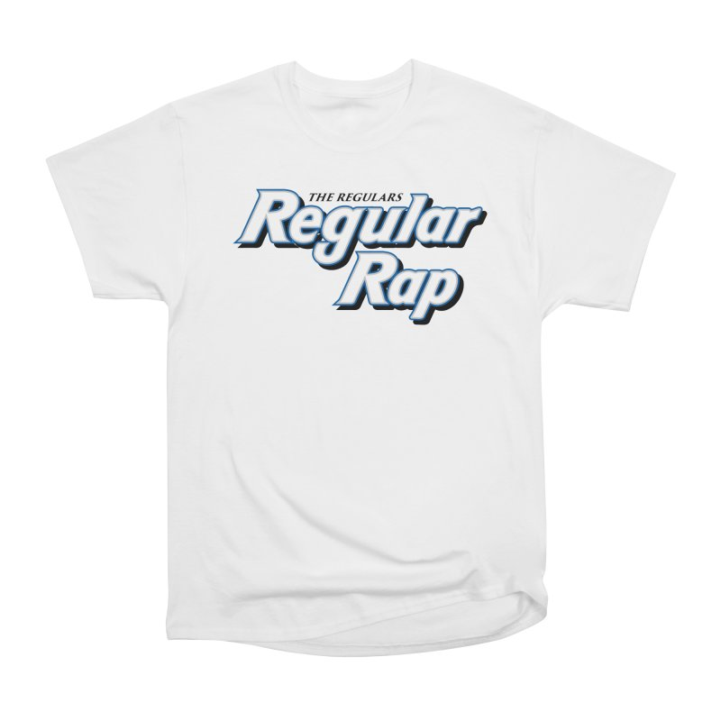 Regular Rap Women's Heavyweight Unisex T-Shirt by RIK.Supply