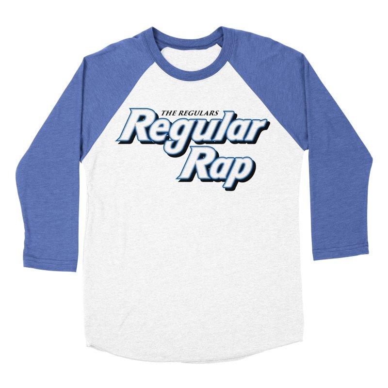 Regular Rap Men's Baseball Triblend Longsleeve T-Shirt by RIK.Supply