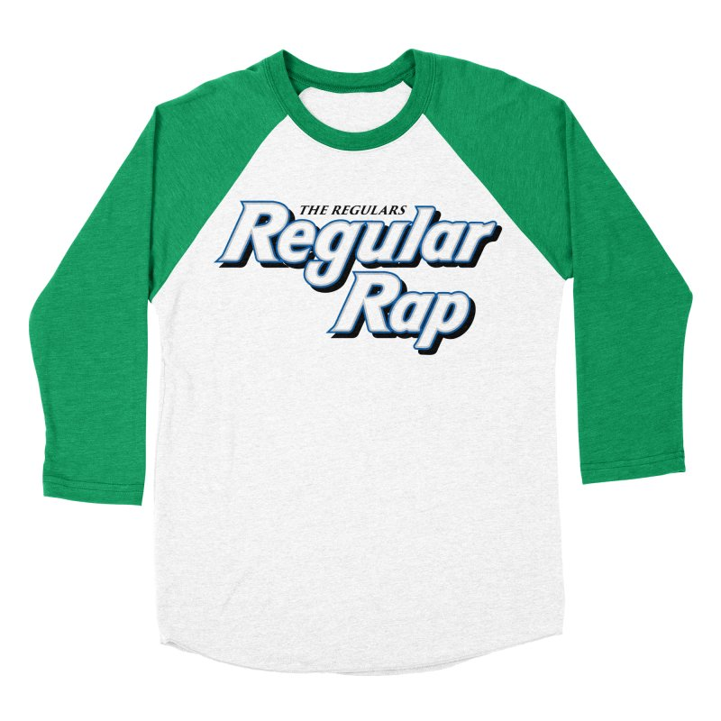 Regular Rap Men's Baseball Triblend Longsleeve T-Shirt by RIK.Supply