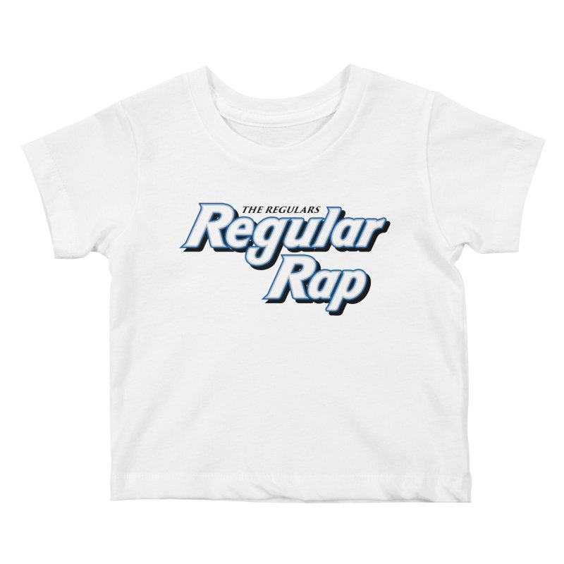 Regular Rap Kids Baby T-Shirt by RIK.Supply