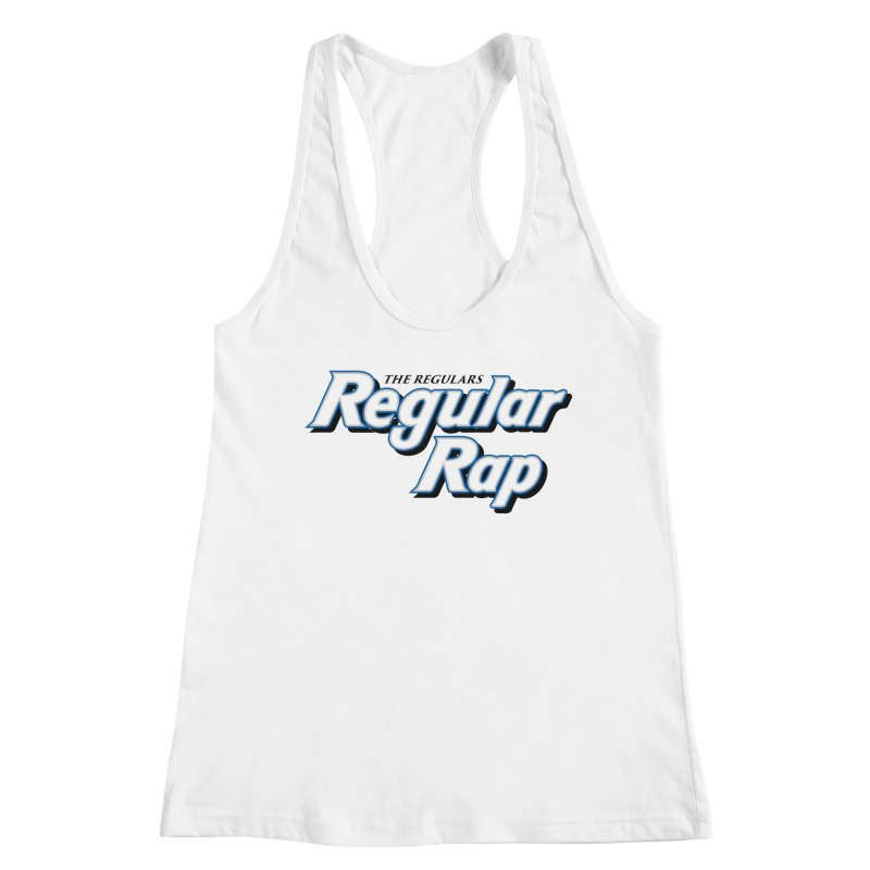 Regular Rap Women's Racerback Tank by RIK.Supply