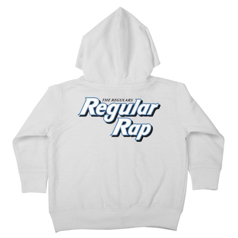 Regular Rap Kids Toddler Zip-Up Hoody by RIK.Supply