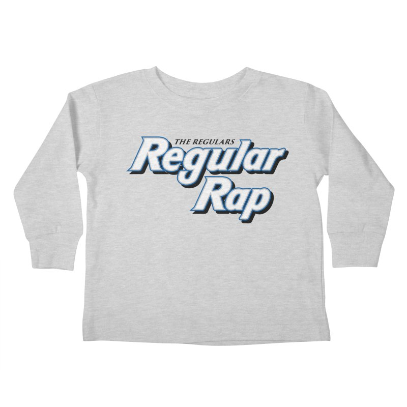 Regular Rap Kids Toddler Longsleeve T-Shirt by RIK.Supply