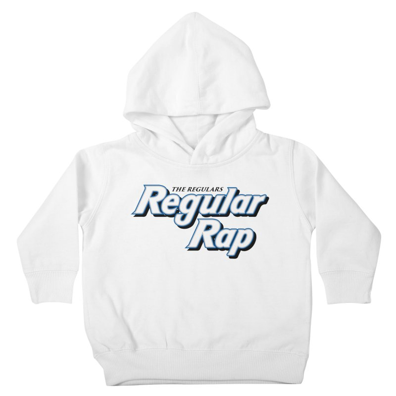 Regular Rap Kids Toddler Pullover Hoody by RIK.Supply